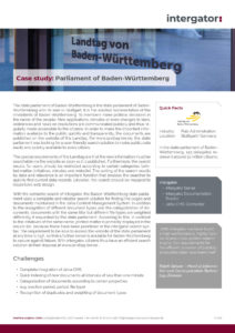 Case Study: State Parliament of Baden-Württemberg