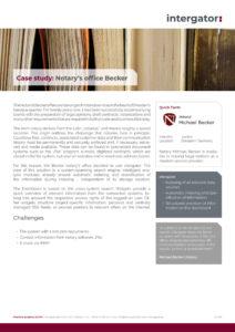 Case study: Becker notary