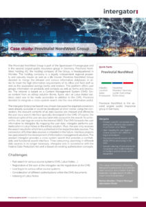 Case Study: Provinzial NordWest Group