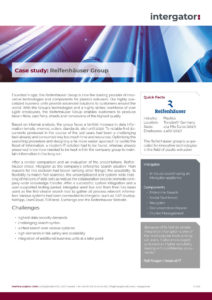 Case Study: Reifenhäuser Group