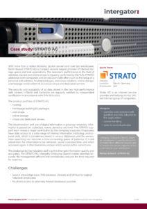 Case Study: STRATO AG