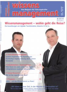 Interview im Magazin Wissensmanagement