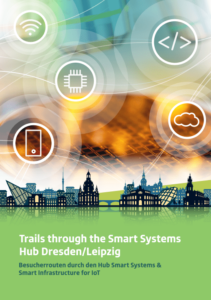 Trail brochure of the SmartSystem Hub to the IT summit in Ludwigshafen