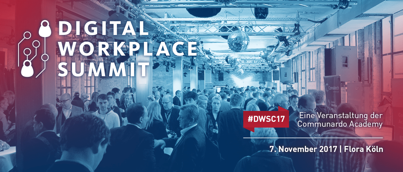 Digital Workplace Summit 2017 by Communardo