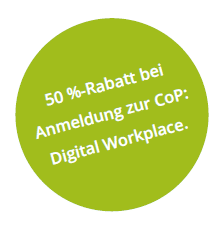Rabattcode Digital Workplace Community of Practice