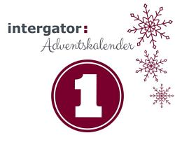 intergator Adventskalender Tür 1