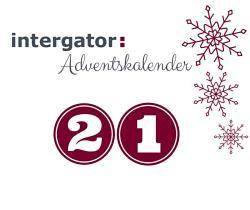 intergator Adventskalender Tür 21