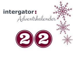 intergator Adventskalender Tür 22