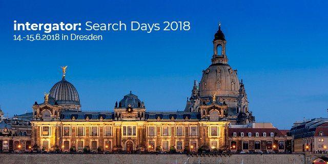 Rückblick auf gelungene intergator Search Days 2018