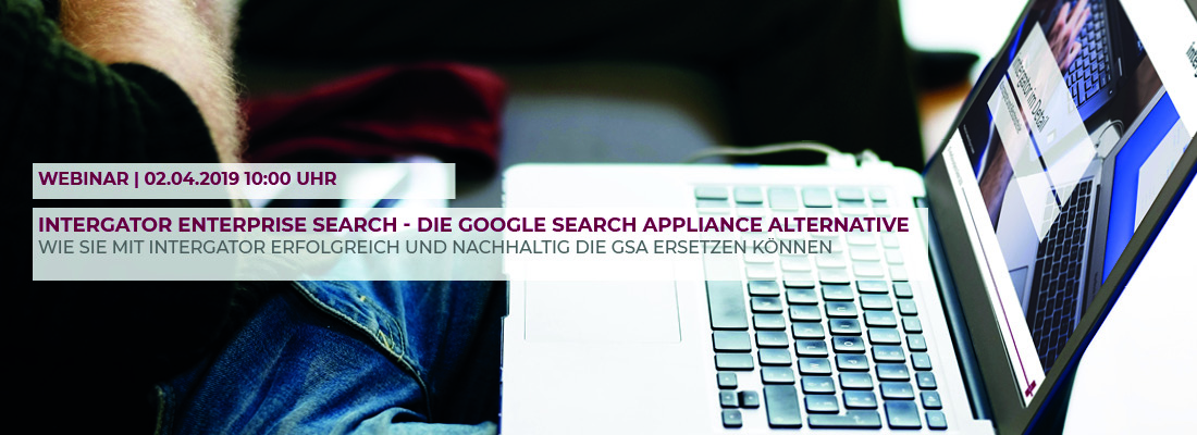 intergator als Alternative für die Google Search Appliance
