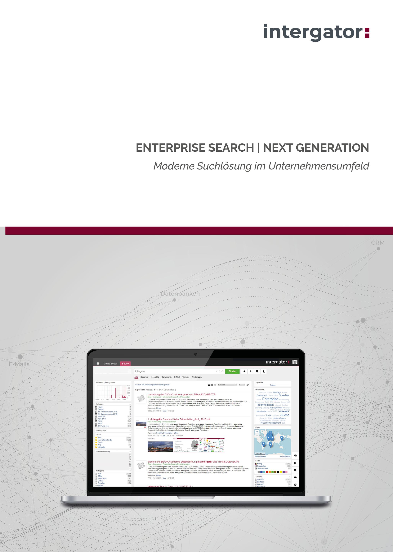 intergator Enterprise Search   Next Generation