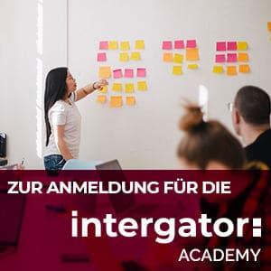 Anmeldung intergator Academy