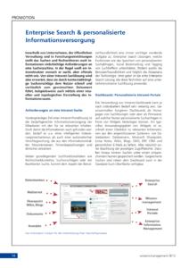 Whitepaper: Enterprise Search und personalisierte Informationsversorgung