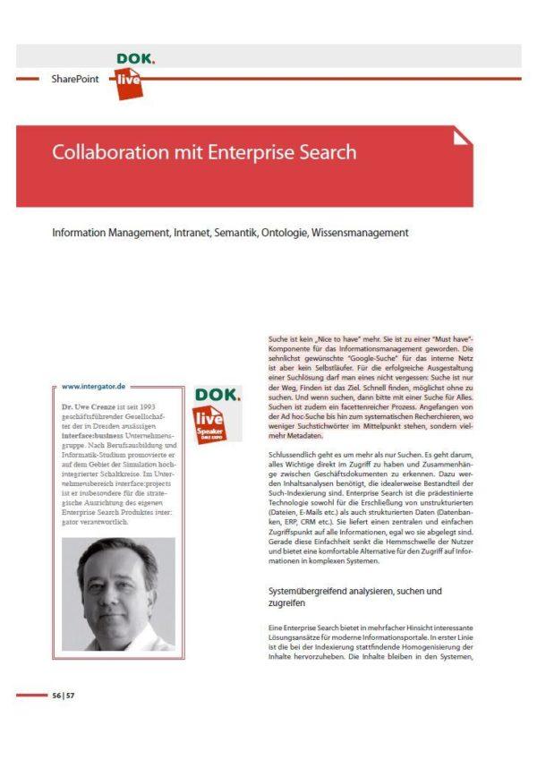 Whitepaper: Collaboration mit Enterprise Search